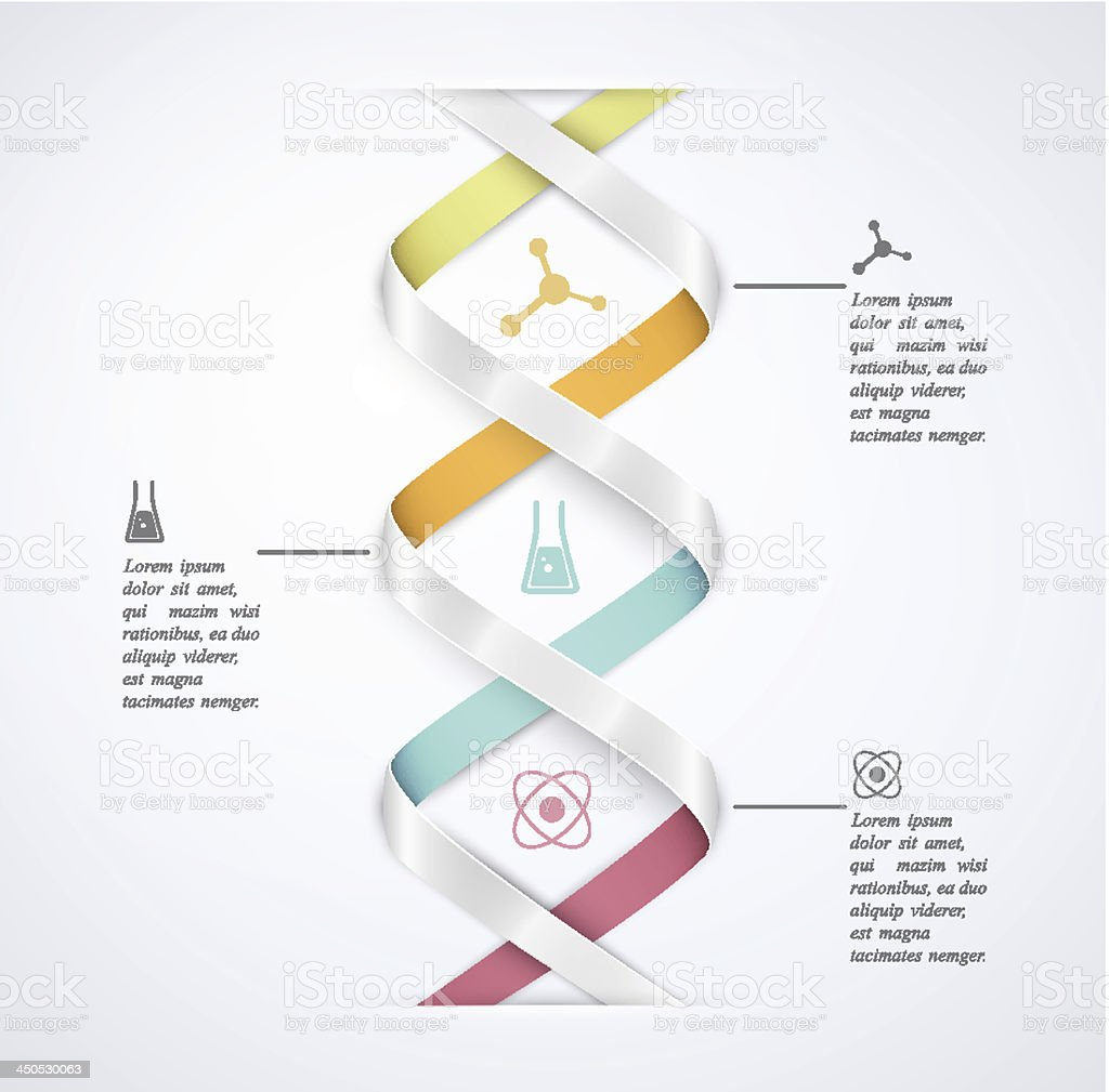 Science infographic royalty-free stock vector art