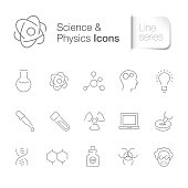 Science & physics icons