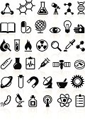 Science vector icons