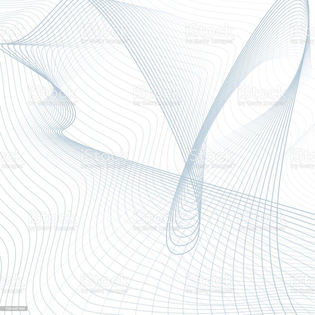 scientific background abstract futuristic line art pattern wavy technology design media concept