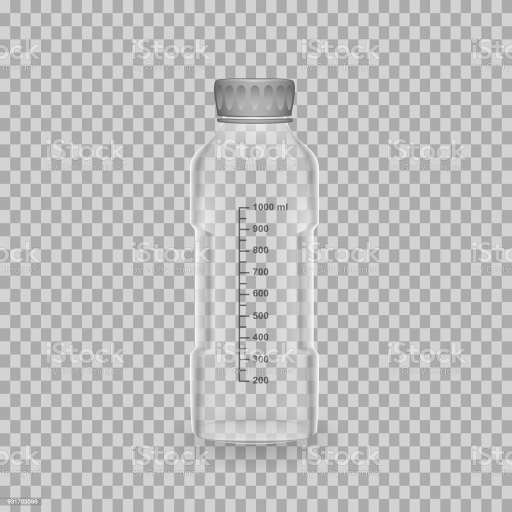 Scientific Glassware Test Tubes Realistic Templates Bottle With ...