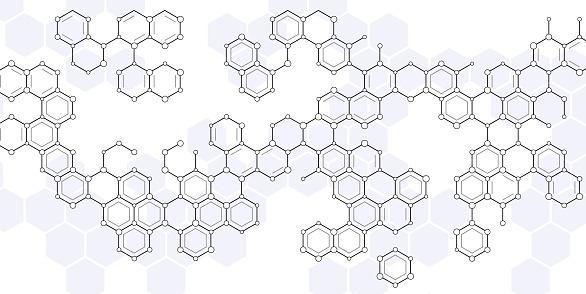 scientific hexagons