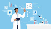 istock Scientific research and technology 1260158120