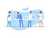 istock Scientific Team at Work in Research Laboratory 1169560485