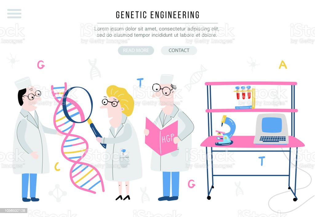 Ilustración De Estructura Del Adn Explora Científico