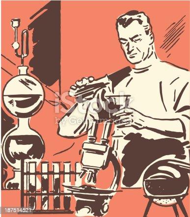 istock Scientist in Laboratory 187514521