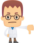 scientist. in various poses for use in advertising, presentations, brochures, blogs, documents and forms, etc.