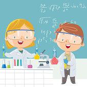 Vector scientist student