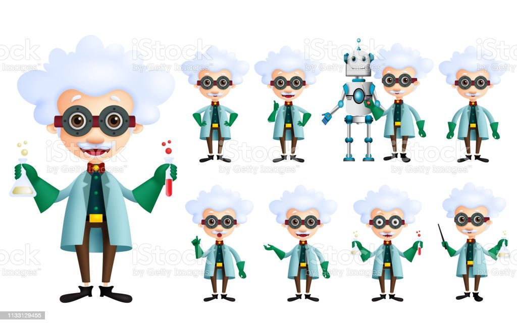 scientist vector character set old genius male inventor stock illustration download image now istock scientist vector character set old genius male inventor stock illustration download image now istock