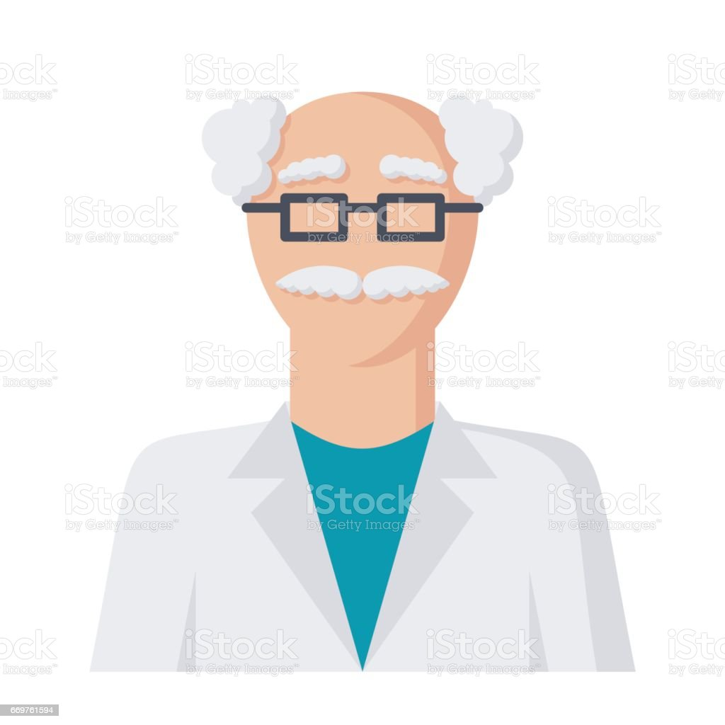 scientist vector icon stock illustration download image now istock https www istockphoto com vector scientist vector icon gm669761594 122495183
