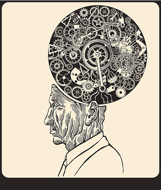 Scientist. vector art illustration