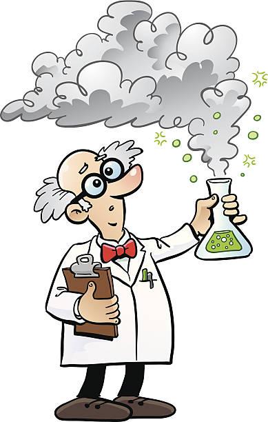 wissenschaftsberuf - extravagant schutzbrille stock-grafiken, -clipart, -cartoons und -symbole