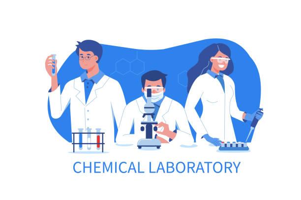 ilustrações de stock, clip art, desenhos animados e ícones de scientists - scientist