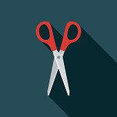 istock Scissors Flat Design Sewing Icon 1078702226