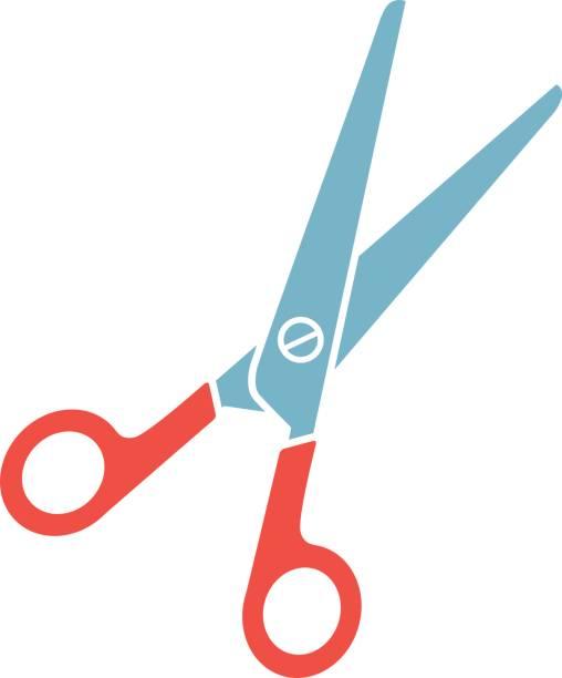 Hair Cutting Scissors Cartoon 2
