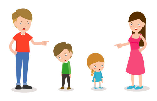 Best Mother Punish Illustrations, Royalty-Free Vector ...