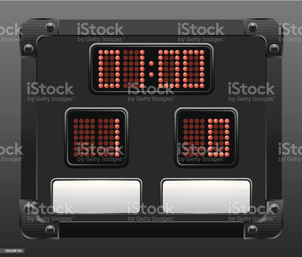score board royalty-free score board stock vector art & more images of competition