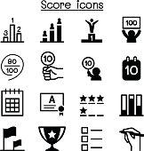 Score icons