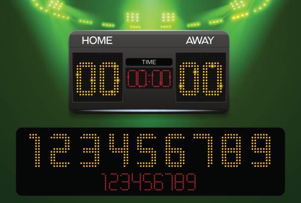 12 588 Scoreboard Illustrations Royalty Free Vector Graphics Clip Art Istock