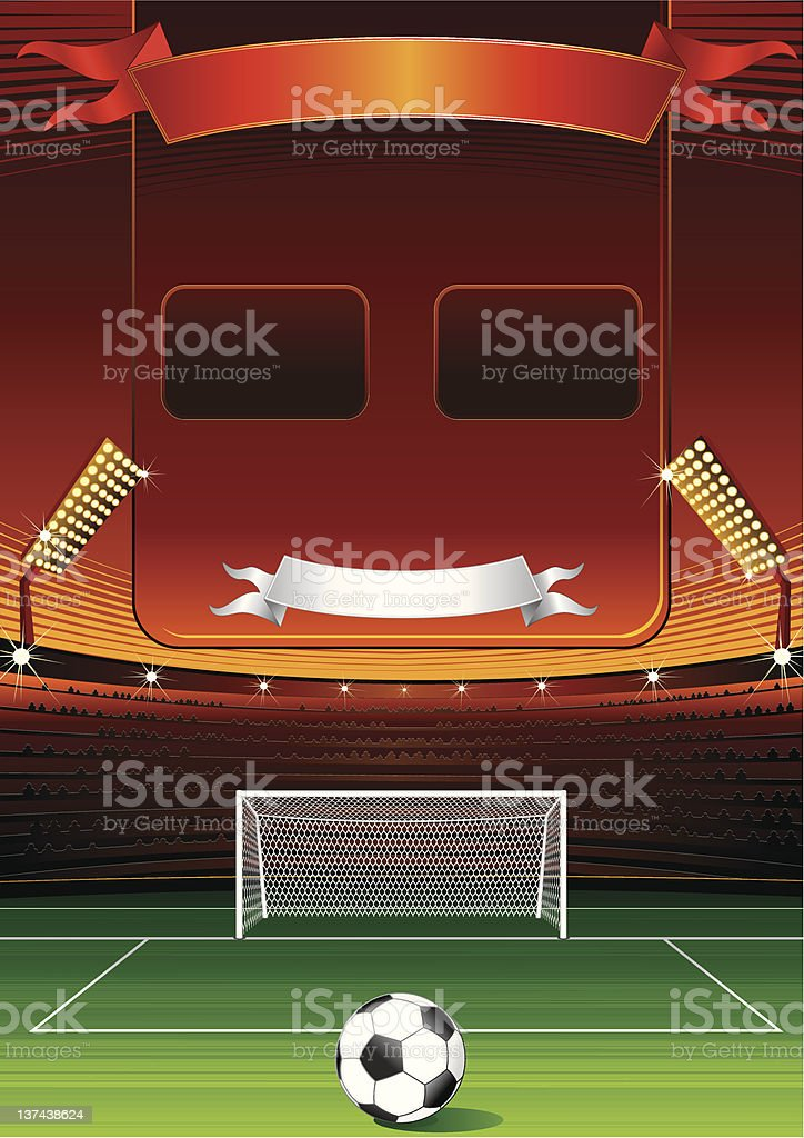 Scoreboard royalty-free stock vector art