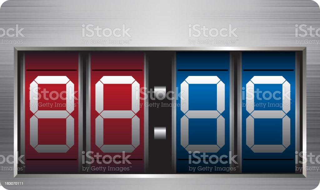 Scoreboard royalty-free scoreboard stock vector art & more images of abstract