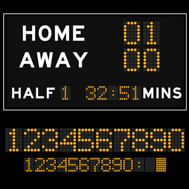 Best Scoreboard Illustrations, Royalty-Free Vector Graphics
