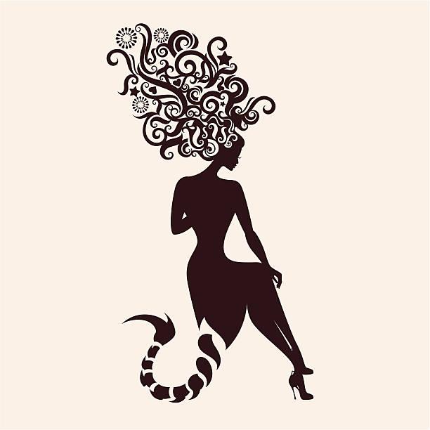 Skorpion. – artystyczna grafika wektorowa