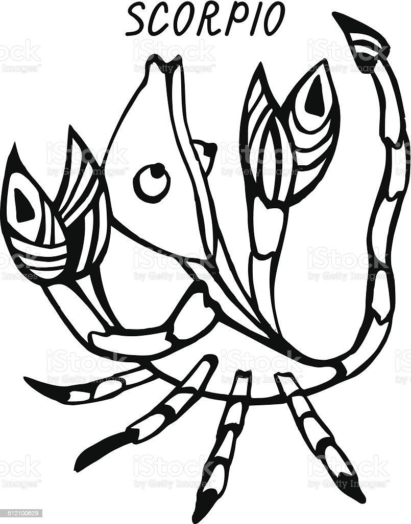 「Scorpio 」 ベクターアートイラスト