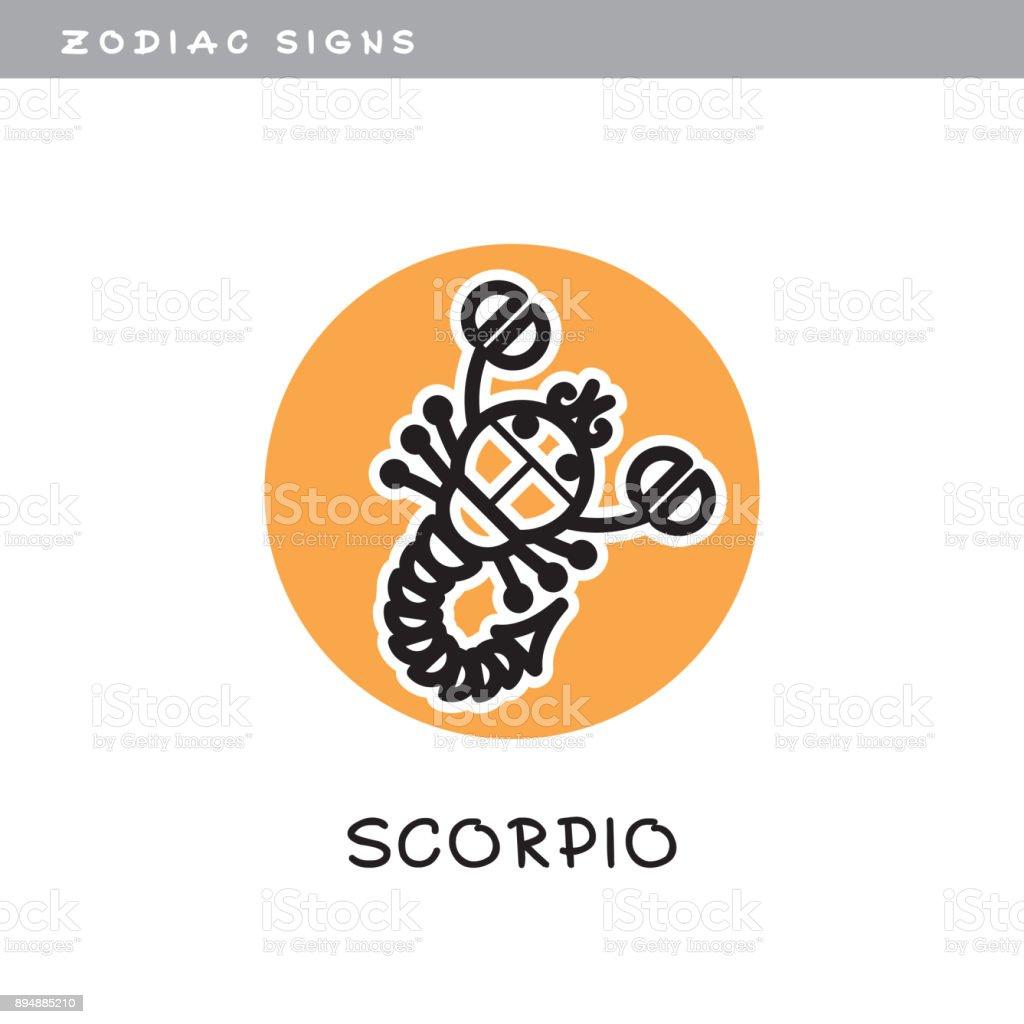 Scorpion scorpio vector icon zodiac sign symbol of astrological scorpion scorpio vector icon zodiac sign symbol of astrological calendar buycottarizona Image collections