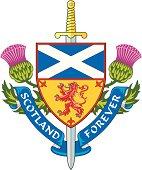 Scotland forever ( Symbol of Scotland )