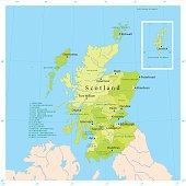 istock Scotland Vector Map 472286645