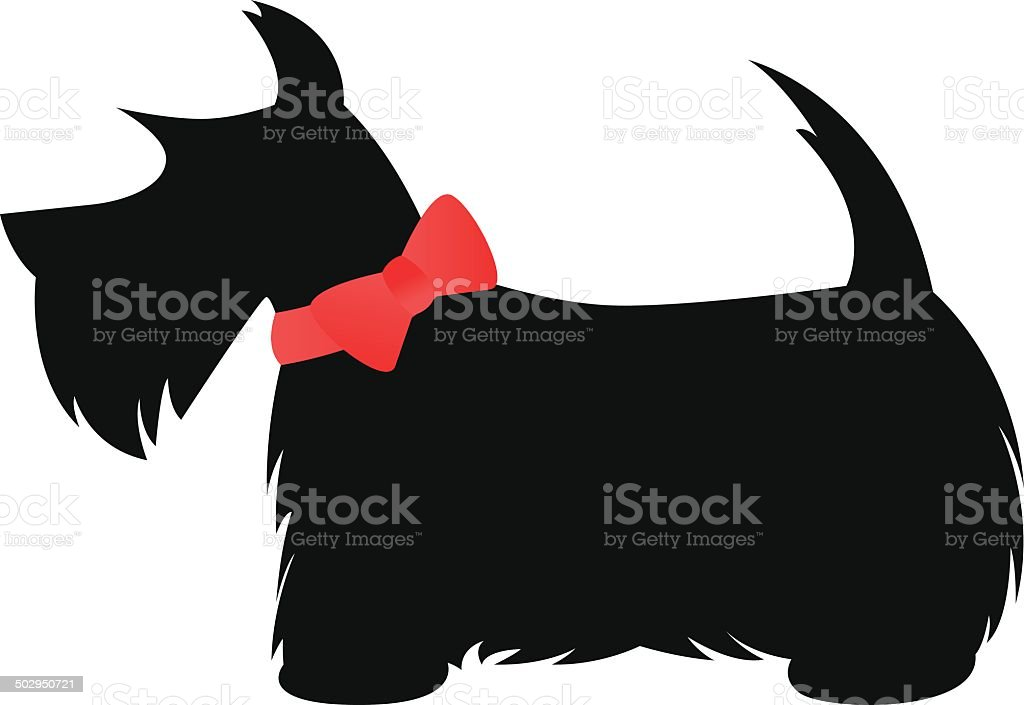 Royalty Free Scottish Terrier Clip Art Vector Images