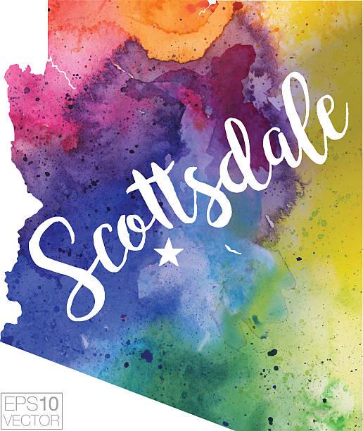 Scottsdale Az Illustrations, Royalty-Free Vector Graphics & Clip Art