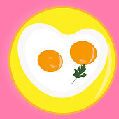 istock Scrambled eggs with two yolks for breakfast 1226212644