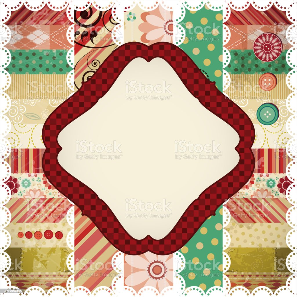Scrapbook Background royalty-free scrapbook background stock vector art & more images of abstract