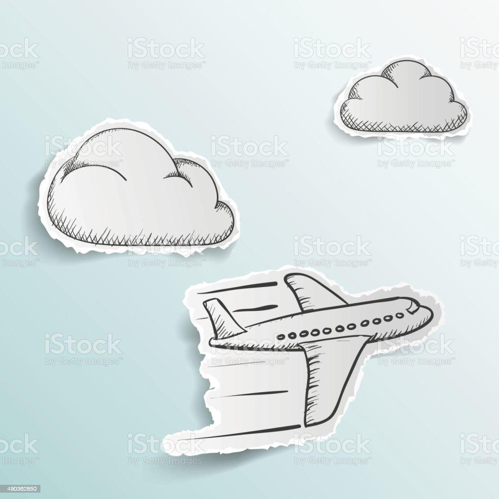 Scrapbooking vector art illustration