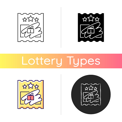 Scratch cards icon