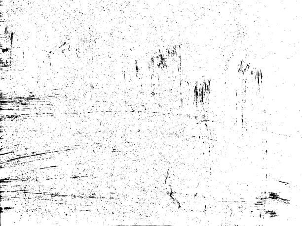 grunge hintergrund zu kratzen. bemalte textur. staub-overlay not korn. platzieren sie einfach abbildung über jedes objekt grunge effekt zu erzeugen. vektor - verzweiflung stock-grafiken, -clipart, -cartoons und -symbole