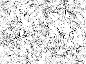 Scratch grunge urban background. Dust overlay distress grain , simply place illustration over any object to create grunge effect. Abstract, splatter , dirty, poster for your design. Hand drawing texture. Vector illustration