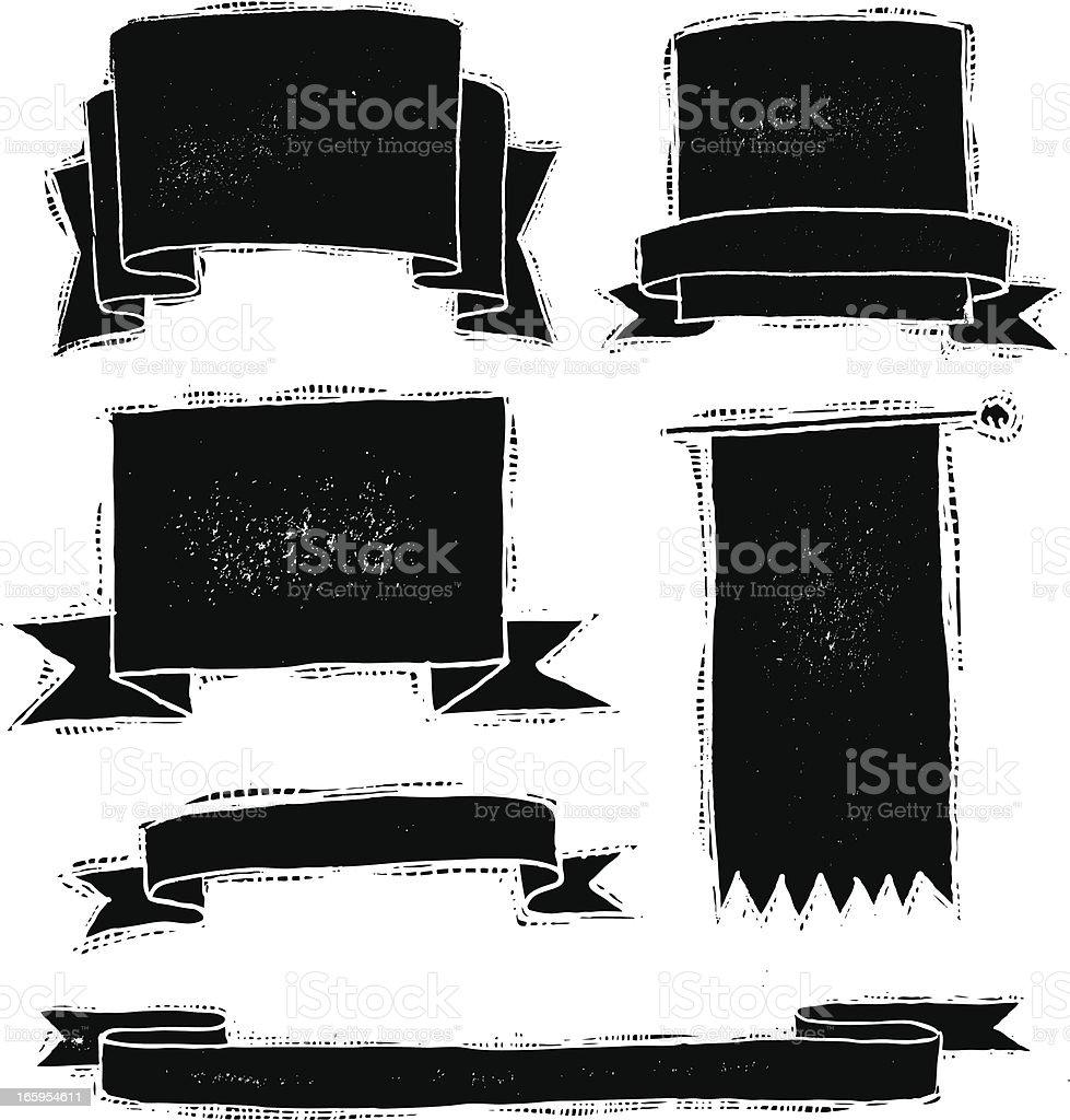 Papel para dibujar de banners arte vectorial de stock y for Papel para dibujar
