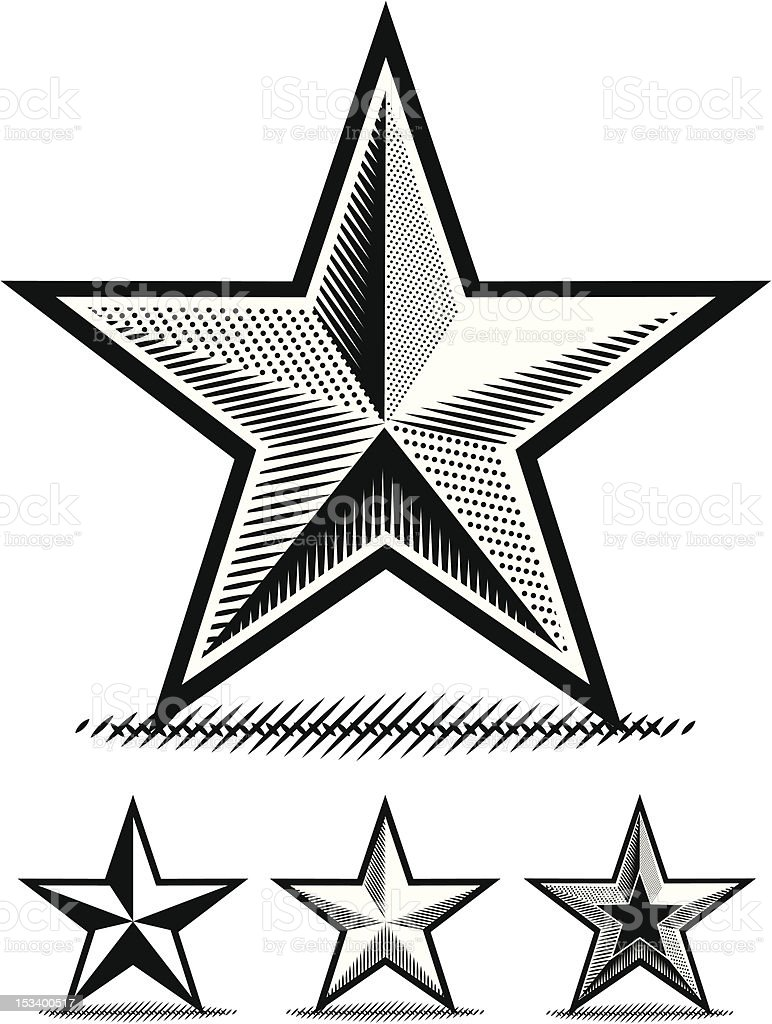 Ilustraci n de estrella de papel para dibujar y m s - Papel para dibujar ...