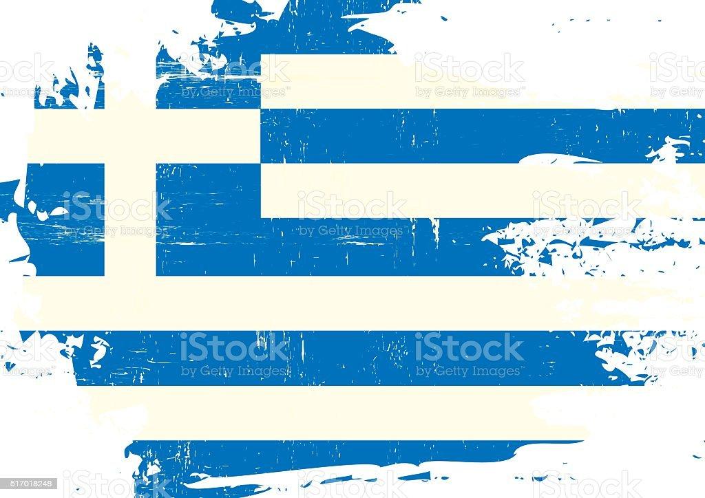 Griechische Flagge Vektorgrafiken Und Illustrationen Istock