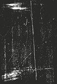 Scratched Vector Background Black 05