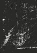 Scratched Vector Background Black 09