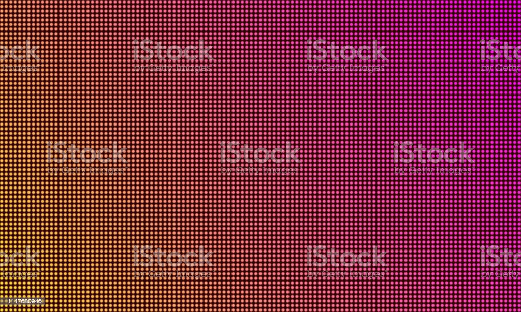 Led Tv Screen Monitor Digital Diode Light Texture Background Vector