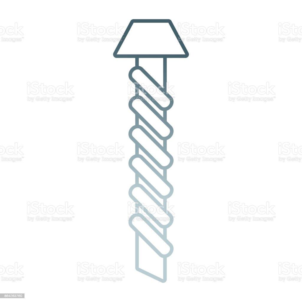 screw  vector illustratio royalty-free screw vector illustratio stock vector art & more images of bolt