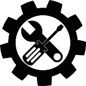 Screwdriver and Wrench icon