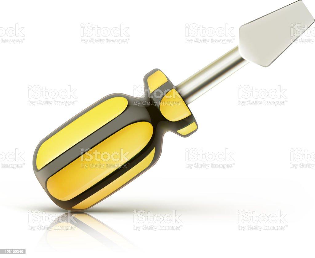 screwdriver icon royalty-free stock vector art