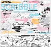 istock Scribble Design Elements 1183434252
