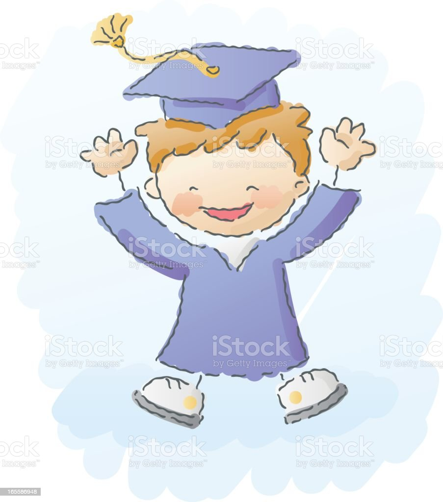 scribbles: graduation royalty-free scribbles graduation stock vector art & more images of adult